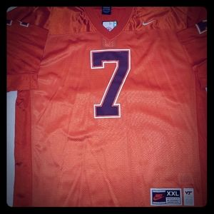 Nike Authentic Michael Vick Virginia Tech Jersey